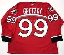WAYNE GRETZKY NIKE 1998 NAGANO OLYMPICS TEAM CANADA RED JERSEY SIZE XXL