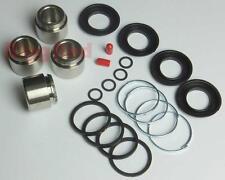 REAR Brake Caliper Repair Kit +S/Steel Pistons for SUBARU IMPREZA WRX STi 2000-7