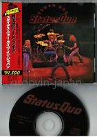 STATUS QUO Tokyo Quo JAPAN-ONLY CD 1993 issue! w/OBI+BOOKLET PHCR-4171 FREE S&H