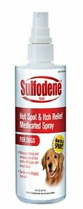 Sulfodene Medicated Hot Spot & Itch Relief Spray for Dogs, 8 oz