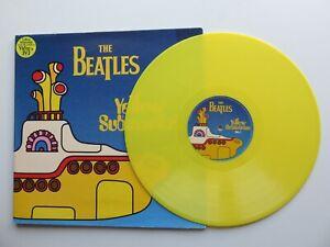 THE BEATLES    YELLOW SUBMARINE  U.K.  LP  YELLOW VINYL  1ST PRESS 1999