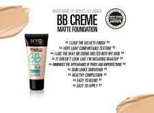 NYC Smooth Skin BB Cream Creme 5 in 1 Instant Matte Skin Perfector 01 Light 30ml