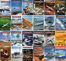WINGS WORLD-Das Herpa Wings Magazin-Modellbau-Luftfahrt-Aircraft Model