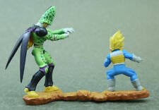 "Dragon Ball capsule Vegeta vs Cell Figure  Authentic 3"" MegaHouse Japan M173"