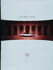 2000 Audi A8 38-page Original Car Sales Brochure Catalog