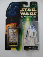 1998 Star Wars Episode 1 R2-D2 Launching Lightsaber Flashback Photo Figure