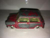 RARE VINTAGE Corgi Toys Red Austin Seven Mini Made in GT Britain
