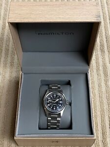 Hamilton Khaki Field 38MM Black Dial Automatic Men's Watch H70455133