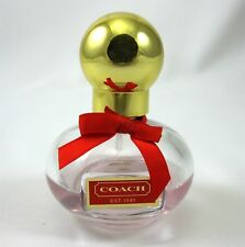 Coach Poppy Eau de Parfum Spray Bottle Perfume 1 Oz  Women EDP 50% Full Travel