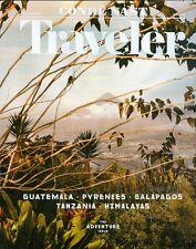 2016 Conde Nast Traveler Magazine: Adventure Issue/Guatemala/Pyrenees/Galapagos