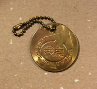 Seattle World's Fair 1962 Space Needle Monorail Medal w. Chain