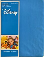 ~ Disney - SINGLE BED FITTED SHEET (Blue)