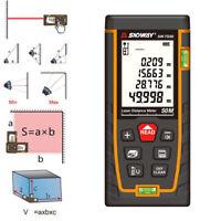 SNDWAY Laser Distance Meter Digital Rangefinder metro trena tape measure ruler z