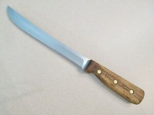 """VINTAGE CHICAGO CUTLERY WALNUT 66S-8"""" SLICING KNIFE-FREE SHIPPING IN THE USA"""