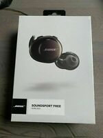 Bose SoundSport Free Wireless kabelloser Bluetooth In-Ear Kopfhörer schwarz NEU