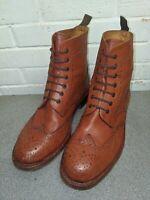 Bench Grade Moreton Tan Brown Lace Up Chelsea Boots Welted Dealer Mens UK 11