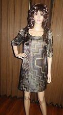 Taylor Avedon Stella silk print Dress Made In Usa sz XS new