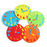 Classroom Geared Teaching Aid Educational Clock For Learning To Tell The Time