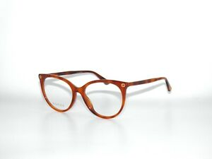Gucci GG0093O 003 53 Avana Light Brown 0093O Eyeglasses