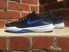 Nike Legend Trainer Black w Blue & White Sneaker Men Size 10.5 Style 9242006007