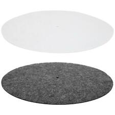 "Wool Record Turntable Platter Mat 12"" Anti-Shake for Vinyl Record Players"