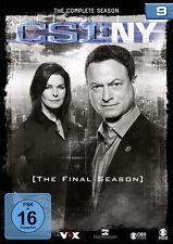 CSI: NY - Season 9 Komplettbox - 6 DVDs - NEU u. OVP