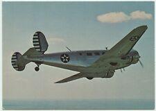 AFTER THE BATTLE POSTCARD - BEECH C-45 EXPEDITER