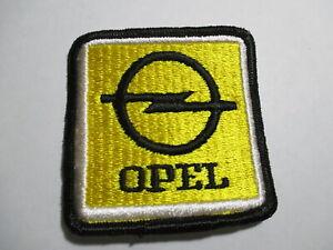 Opel German Car Patch Auto Wheels Motor Vehicle Vintage Original NOS