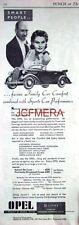 1937 OPEL 2.5L Foursome Drophead Coupe Motor Car ADVERT - Original Auto Print AD
