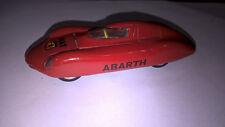 Solido serie 100 Art.113 Abarth 1a versione 1961 colore rosso e cerchi a disco.