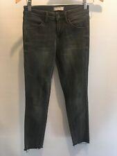 UNIQLO size 23  or XXS womens skinny leg charcoal jeans