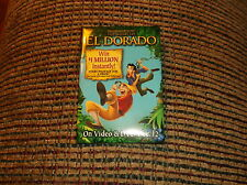 THE ROAD TO EL DORADO MOVIE PIN
