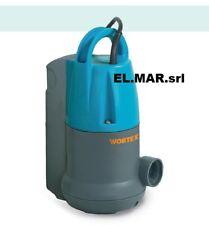 Pompa Sommersa HP 0,75 Elettropompa galleggiante incorporato x pozzetti Monofase