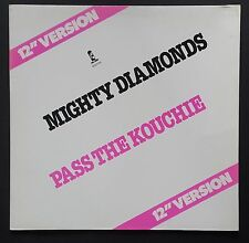 "12"" The Mighty Diamonds – Pass The Kouchie 1982 Island Records – 600708 Reggae"