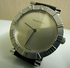 Tiffany & Co. Sterling Atlas Watch. Quartz. Runs. 32mm