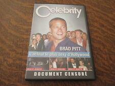 dvd celebrity brad pitt: l'acteur le plus sexy d'hollywood