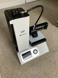 Monoprice MP Select Mini V2 White 120 x 120 x 120 mm 3D Printer 15365