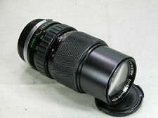 Olympus ZUIKO auto zoom 75-150mm f 4 lens bundle caps for OM1 OM2 OM3 OM4 OM10