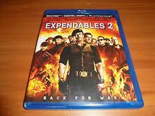 The Expendables 2 (Blu-ray Disc, 2012)  Sylvester Stallone Used