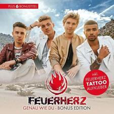 FEUERHERZ Genau Wie Du Bonus Edition  (2017)  CD  NEU & OVP