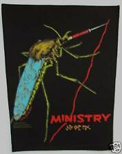 Vintage 90s Large Sew-On Patch: Ministry / Mosquito