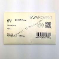 1440 Swarovski Rhinestone Flatback Nail Art SS5 CRYSTAL (001)