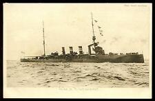 Royal Navy H.M.S.. LIVERPOOL Light Cruiser  PPC Tuck #4311 picture postcard