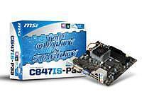 Cartes mères MSI pour ordinateur Mini-ITX et Intel