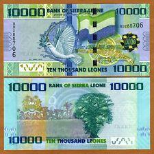 New listing Sierra Leone, 10000 (10,000) Leones, 2010, P-33, Unc