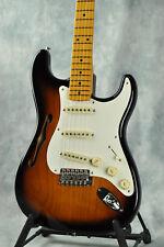 Fender American Eric Johnson Signature Stratocaster Thinline Guitar- 2T Sunburst