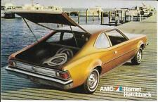 AMC Hornet Hatchback Dealer Postcard  Unposted