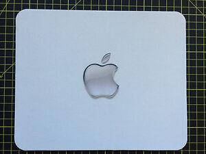 GLASS APPLE effect/theme print MOUSEMAT MOUSEPAD compatible for Mac iMac MacBook