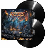 """ACCEPT - The Rise Of Chaos (NEW 2 x 12"""" VINYL LP)"""