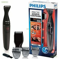 Philips Multi-Groom Men's Ultra Precise Beard Trimmer Shaver Shaper Series 1000